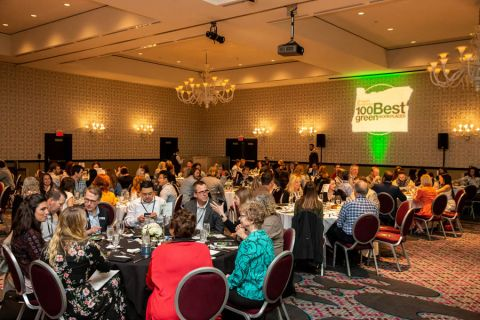 Highlights From The 100 Best Green Workplaces Luncheon