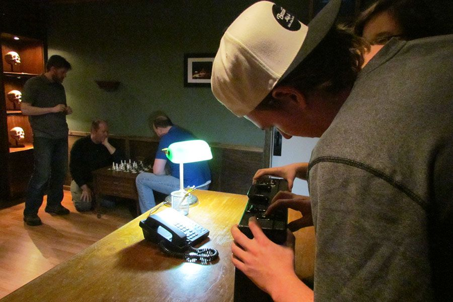 Visitors solve puzzles to escape at Hour to Midnight in Portland