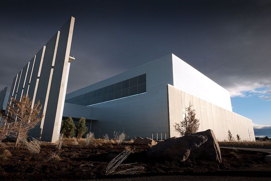 Facebook's data center in Prineville