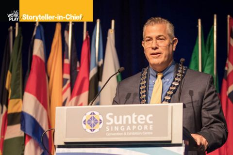 Steve Stapp, chair of the World Council of Credit Unions
