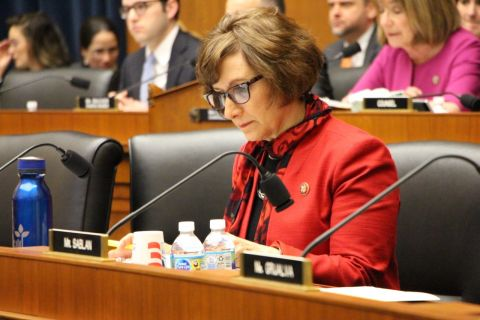 Rep. Suzanne Bonamici at a registered apprenticeships hearing