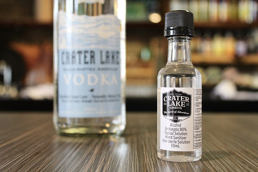 Crater Lake Spirits is making hand sanitizer to fight the pandemic