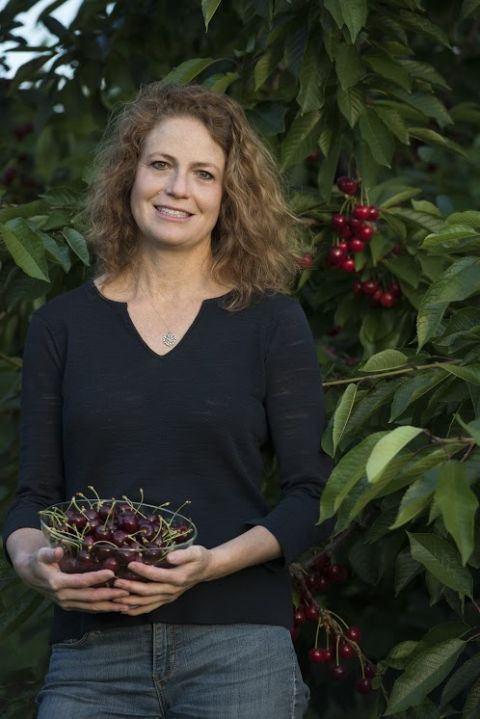 Brenda Thomas, president of Orchard View Cherries in The Dalles