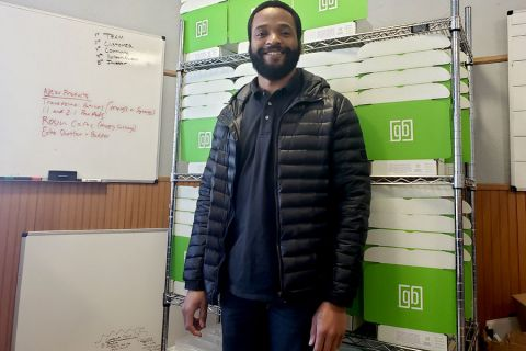 Adrian Wayman, founder of Green Box