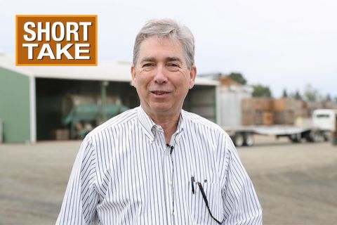 Greg Thorsgard, COO of Hazelnut Growers of Oregon