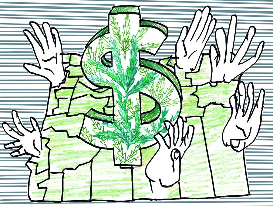 Cities, counties awaiting pot revenues