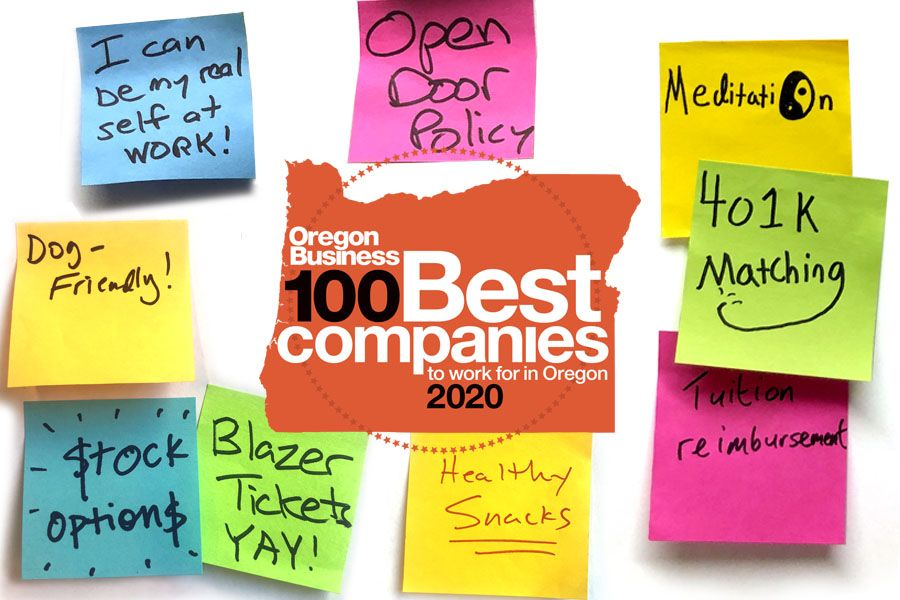 The 2020 100 Best Companies to Work for in Oregon