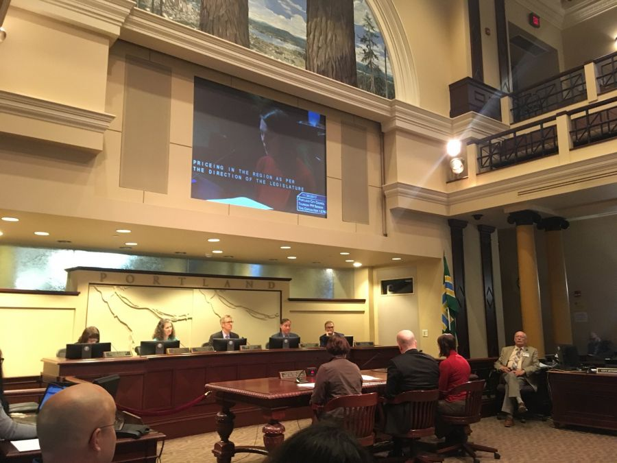 PDX council adopts resolution supporting congestion pricing