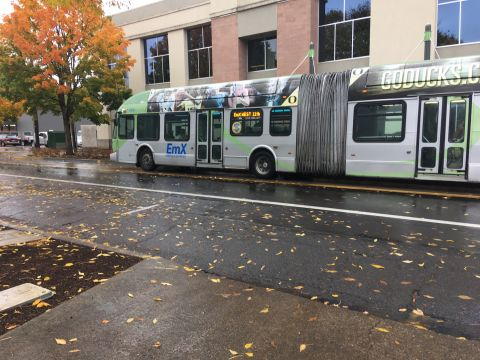 EmX,  Bus Rapid Transit in Eugene