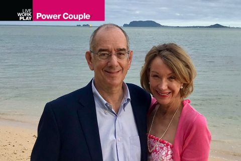 Power Couple — Jeffrey Stevens and Wendy Lane Stevens