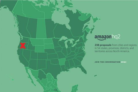 Opinion: The Amazon Sweepstakes