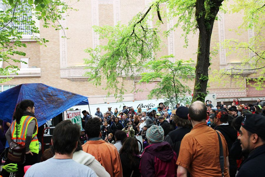 Updated: May Day PDX marked by riots, TriMet closures and HBO film shoot