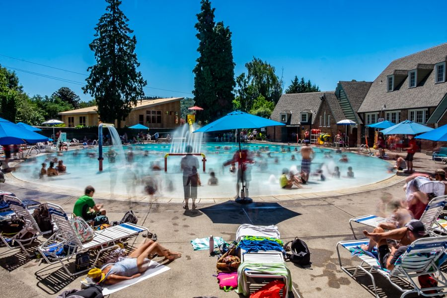 Sellwood Pool, Portland (Click to enlarge)