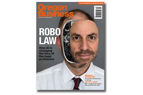 February Cover Story: Picturing AI Law