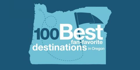Press Release: Announcing the 2018 100 Best Fan-Favorite Destinations in Oregon