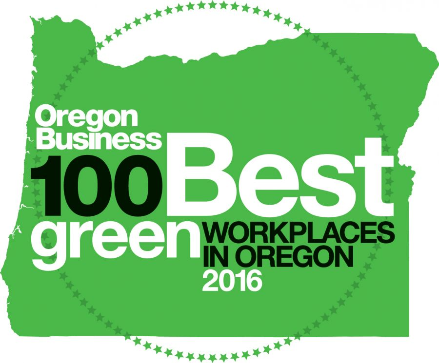 2016 100 Best Green Workplaces in Oregon