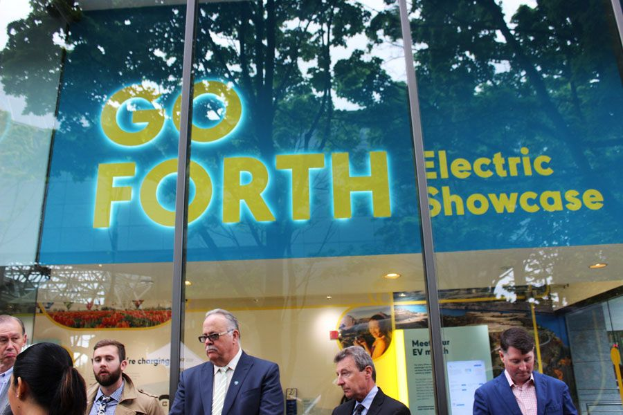 Forth unveils new EV showroom